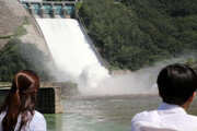 소양강댐 제한수위 초과…오후3시 3년만에 수문 개방