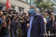 홍콩 언론계 거물 지미 라이, 보안법 위반 혐의로 체포돼