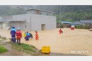 '하이선' 동해로 빠져나가…경북서 60세 남성 강물에 휩쓸려