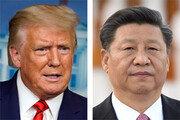 """트럼프 """"중국바이러스와 전쟁"""" 시진핑 """"코로나 정치화 거부"""""""