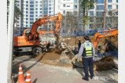 안양 호계동 아파트 공사장서 작업자 2명 매몰…1명 사망
