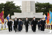 """野 """"국군의날 기념사에 한마디 없어…대통령은 어디에"""""""