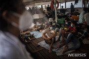 리비아 연안 해역서 난민선 좌초로 최소 13명 목숨 잃어