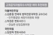 """野 '공수처 與단독 구성' 일단 제동… 與 """"시간끌기땐 단호 대응"""""""