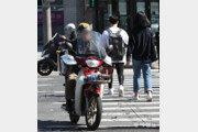 """배달 오토바이 단지 안 곡예 질주… 주민 33% """"아찔한 장면 목격"""""""