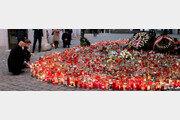 빈 테러 희생자 추모하는 오스트리아 총리와 EU 정상회의 의장
