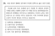 """'너무 쉬운' 수능 한국사 20번 논란…""""사상교육"""" 비판도"""