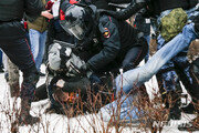"""러시아, """"모스크바 미국대사관의 반정부시위 지지""""경고"""