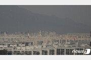 430일 만에 초미세먼지 '매우나쁨'…뿌연 하늘 언제까지?