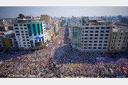 거리 메운 '22222혁명'… 미얀마 최대 反쿠데타 시위