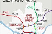 """""""광화문-동대문-왕십리에 GTX역 추가를"""""""