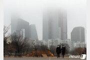 출근길 아침 짙은 안개 유의…곳곳 가시거리 200m 이하