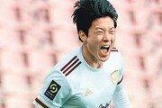 펑펑 터진 황의조, 프랑스 무대 시즌 최다골
