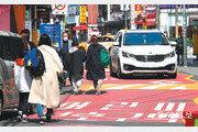 불법 주정차… 인도 없는 등굣길… 어린이 교통안전 여전히 위협