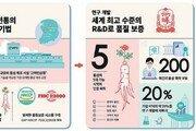 6년근 수삼 100% 계약재배… 엄격한 품질관리로 '믿고 먹는 홍삼'