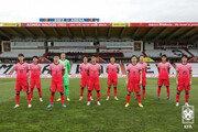 벤투호, 한일전서 붉은색 유니폼…한국 응원단 2000명 입장 가능