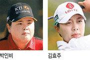 1년 4개월만에 LPGA 복귀한 김효주, 훨훨 날았다