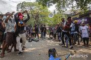 미얀마 '국군의 날' 시위대 강경진압에 100명 가까이 숨져