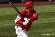 '이도류' 오타니, 시즌 첫 안타 홈런으로 장식