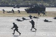 """대만 외교부장, """"중국 무력침공하면 끝까지 싸우겠다"""" 경고"""