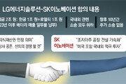[사설]공생 중요성 일깨운 SK-LG 배터리 소송 극적 합의