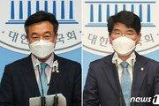 與 원내대표 16일 선출…친문 '당권파' 윤호중 vs 비주류 '쇄신파' 박완주