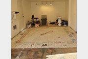 英 가정집 바닥서 발견된 거대 보드게임판…정체는?