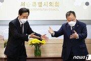 """'김어준 퇴출' 요구에 김인호 의장 """"심도 있게 논의해 접점"""""""