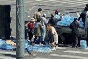 [단독]쏟아진 화물 치우는 시민들… SNS로 퍼지는 '선한 영향력'