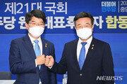 """언론개혁 온도차…윤호중 """"금년 내 처리"""" vs 박완주 """"다음 정부에"""""""