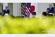 """바이든·스가 첫 정상회담…""""中·北 대응 협력…한·미·일 공조 중요"""""""