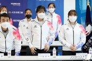여자컬링 '팀 민지', 세계최강 스웨덴 팀 제압…조 5위