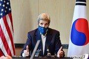"""케리 """"日오염수 방류, IAEA와 공조 확신…개입 부적절"""""""