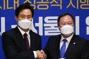 """서울시의회 의장 """"유치원 무상급식 고민해야""""…오세훈에 확대 제안"""