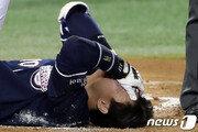'안와골절' 두산 박세혁 19일 수술…재활 기간 추후 확정
