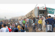이집트, 한달도 안돼 또 열차 사고, 최소 11명 사망… 100여명 부상