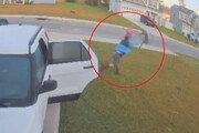 아내 공격한 광견병 보브캣, 맨손으로 제압한 '사랑꾼'