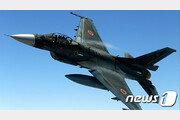일본 자위대 F-2 전투기 홍보 촬영 중 '접촉사고'