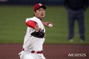 김광현 MLB 한 경기 최다 8K…올해도 신시내티 제물로 시즌 첫 승