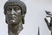 로마 콘스탄티누스 대제 청동상 손가락 500년 만에 원위치