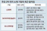 '배터리 大戰' 소재산업까지 확산… LG '인재 보강' SK '해외 확장'