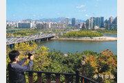 """""""한강과 남산이 한눈에""""… 동작구 용양봉저정 공원 개방"""