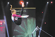 [바람개비]체조 선수 vs 카메라