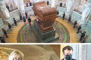 나폴레옹 사망 200돌… 참배하는 佛 마크롱 대통령