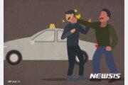 도로서 60대 택시기사 무차별 폭행…20대 구속영장