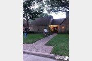 美 텍사스 주택가에 '범 내려왔다'…경찰과 정면 대치