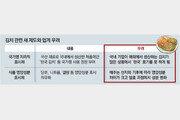 한국업체도 받기 힘든 '한국김치' 인증