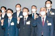 이재명, 친노-친문 합류한 전국조직 출범… 경선 연기론에 반대
