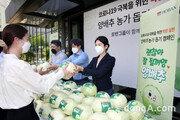 농가 지원에 진심인 호반그룹… 가격 급락 '양배추' 나눔 캠페인 진행