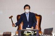 김부겸 국무총리 인준안, 野 불참속 본회의 통과